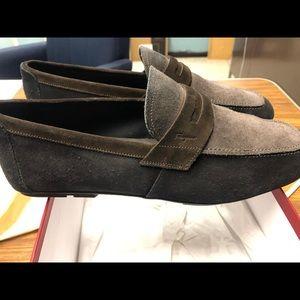 Suede Salvatore Ferragamo Shoes 9EE